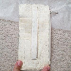 Miche Bags - Cream flat wallet